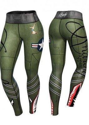 Bomber legging